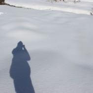 Prises de vues dans la neige